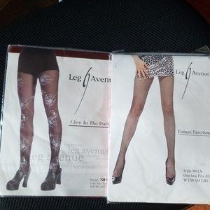 2 pairs of Women's Hosiery pantyhose